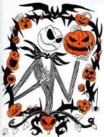 Pumpkin King Jack by Piddies0709