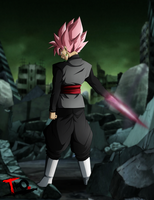 Super Saiyajin Rose - Black Goku by Theo001