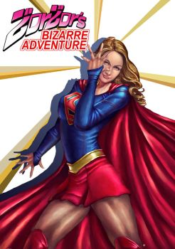 Supergirl Bizarre Adventure by cric