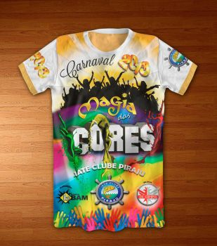 camiseta Carnaval by battiston