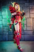 Valeera Sanguinar by Kinpatsu-Cosplay