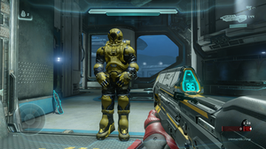 Halo 5 diving suit or hazmat suit? by GhostHuckebein