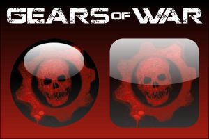 Gears of War Icons by firba1