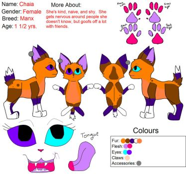 Chaia Reference Sheet 4 by katleidoscopic