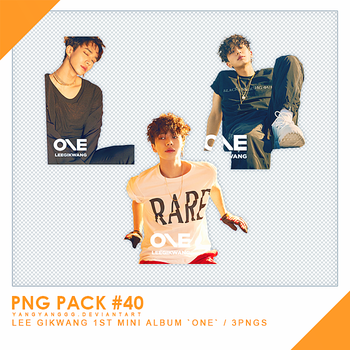 PNG PACK#40 -  LEE GIKWANG `ONE` 3PNGs by Yangyanggg