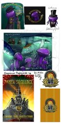Sunless Sea Sketchdump by Feivelyn
