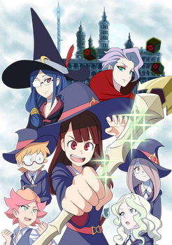 Little Witch Academia by AdrianEH
