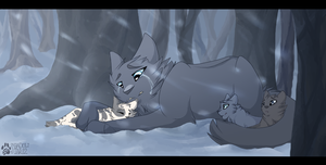 Cold Fur by shadowily