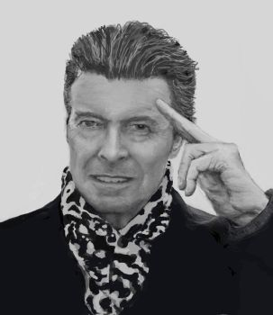 Bowie Bw by marypmadigan