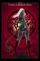 Drow Pic -alternate Version- by OrcOYoyo