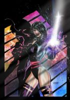 Psylocke by henflay