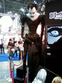 Real size Ryuk by tickledpinky