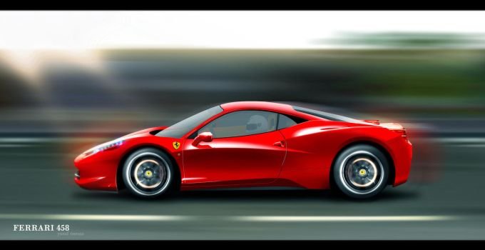 Ferrari 458 by Flame-X