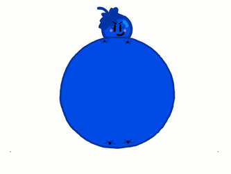 Blueberry Boy Inflated by FranklinShortcake