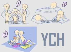 [open 1/3] YCH Groups by graymuffler