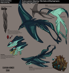 Creature Specimen: Salipantres by Avian-king