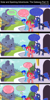 Solar and Sparking Adventures: The Gateway Part 15 by EmoshyVinyl