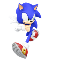 Sonic Running Render by JaysonJeanChannel