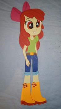 Paper Characters: Apple Bloom (EG) by JustSomePainter11