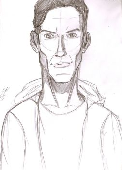 Abed sketch by Marcus-Pechan