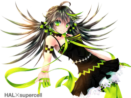 HAL X supercell by SYGNALLOST