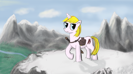 Skyrim pony thing by Phearlock