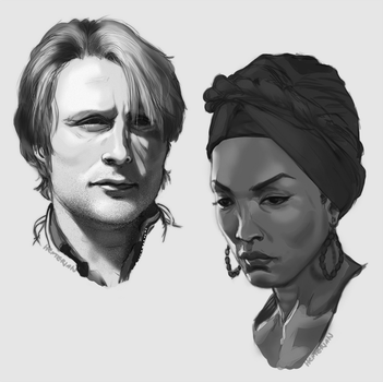Mads, Angela by Hexterian