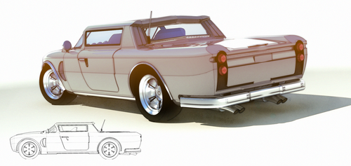 Creame Delight rear view by aconnoll