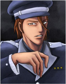 Captain Aizen by AizenSousuke