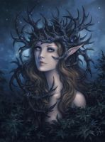 Horned Crown by Candra