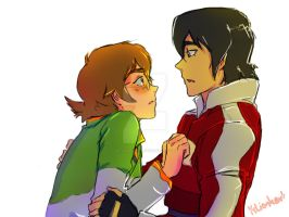 Pidge and Keith by KP-Lionheart
