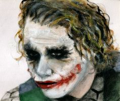 Can't read my Joker face... by HenchGoose