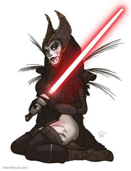Sith Witch Nightsisstaahh by grantgoboom