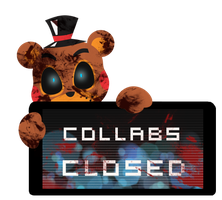 Toy Freddy Collabs Closed Stamp by InkCartoon
