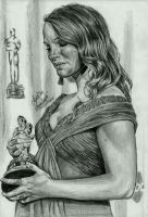 Natalie Portman's first Oscar by AngelinaBenedetti