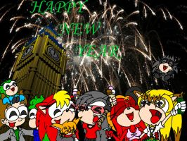 Happy New Year for 2006 by EUAN-THE-ECHIDHOG