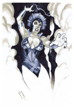 Evil-Lyn Commission by StephaneRoux