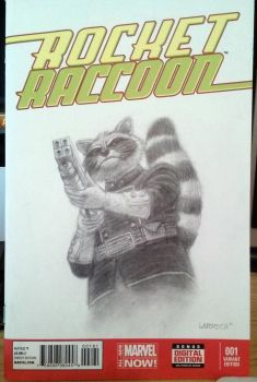 Get Carter Rocket Raccoon by mr-sinister2048