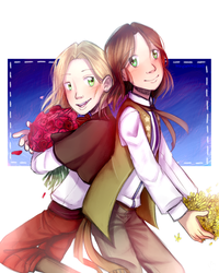 Liet and Pol by HayaMika
