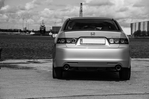 Accord CL9 rear by dafour