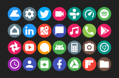 Material icons by Xiaomi-MIUI