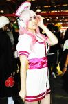 Super Sonico cute by LuffySwan