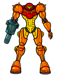 Metroid by crackwalker
