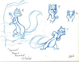 squirrel reworking II by Animator-who-Draws