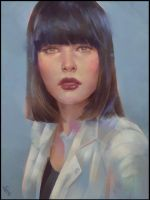 Painterly Portrait 2 Day #275 by AngelGanev