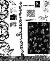 Fabric Pattern Brushes by prudentia