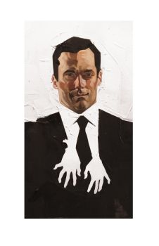 A woman's touch (Don Draper) by dicemanart