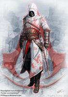 Altair Ibn La Ahad from Assassins Creed by RGDopico