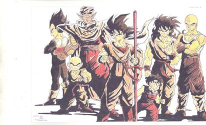dragon ball by handiwukong