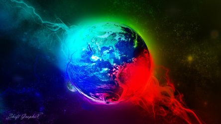 Earth from Space_Shift GraphiX by ShiftgraphiX